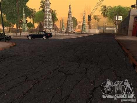 Neue Wege in der Grove Street für GTA San Andreas her Screenshot