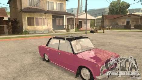 VAZ 2101 Dag pour GTA San Andreas vue arrière