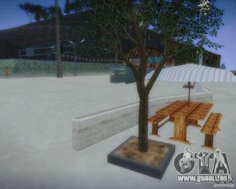 Nouveaux modèles de loisirs pour GTA San Andreas cinquième écran