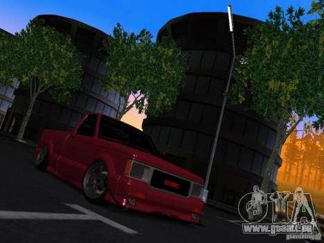 GMC Syclone Drift pour GTA San Andreas vue de droite