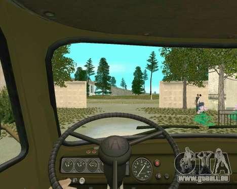 UAZ 3303 pour GTA San Andreas vue de droite