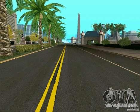 GTA 4 Road Las Venturas für GTA San Andreas her Screenshot