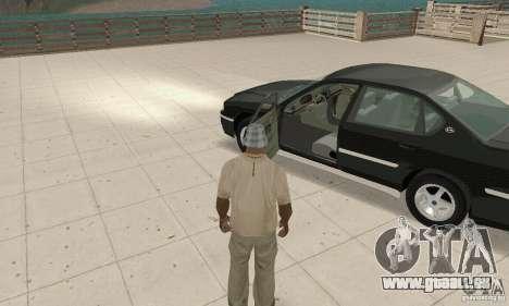 Chevrolet Impala 2003 pour GTA San Andreas vue arrière