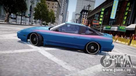 Nissan 240sx v1.0 pour GTA 4 est une vue de dessous