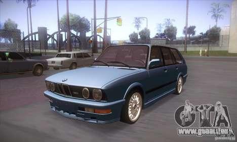 BMW E28 Touring pour GTA San Andreas laissé vue