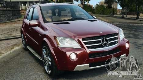 Mercedes-Benz ML63 (AMG) 2009 pour GTA 4