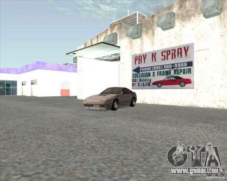 Mazda Savanna RX-7 FC3S für GTA San Andreas zurück linke Ansicht