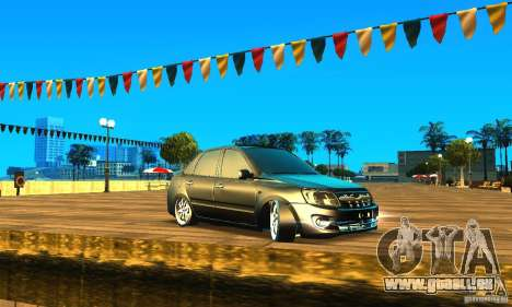 Lada Granta v2.0 für GTA San Andreas linke Ansicht