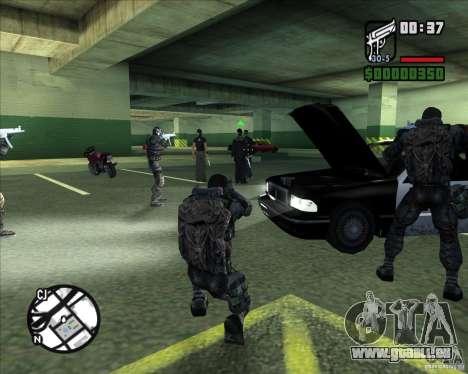 Groupe de stalkers dette pour GTA San Andreas sixième écran
