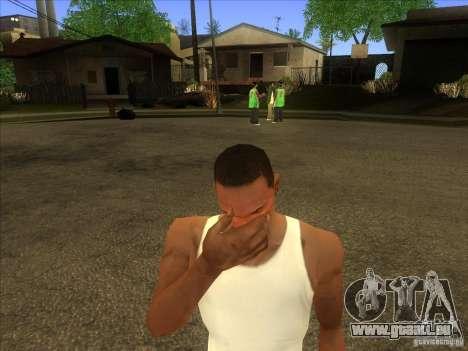 Facepalm Mod pour GTA San Andreas troisième écran