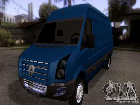 Volkswagen Crafter XL pour GTA San Andreas
