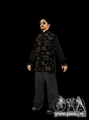 Skinpak Yakuza für GTA San Andreas dritten Screenshot