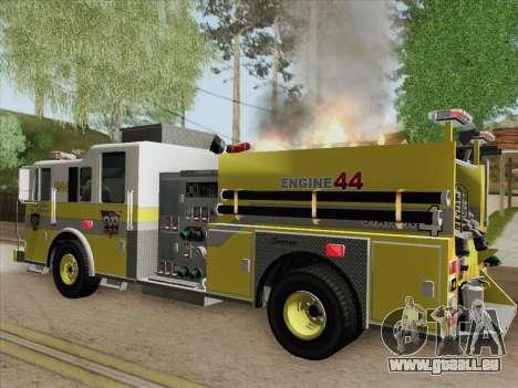 Seagrave Marauder II BCFD Engine 44 pour GTA San Andreas moteur