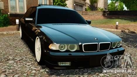 BMW 750iL E38 Light Tuning pour GTA 4