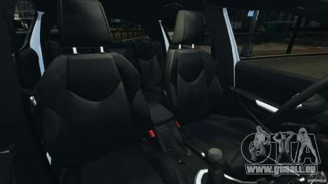 Peugeot 308 GTi 2011 v1.1 für GTA 4 Innenansicht