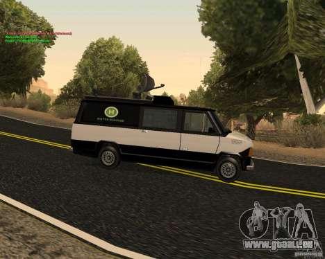 New News Van für GTA San Andreas linke Ansicht