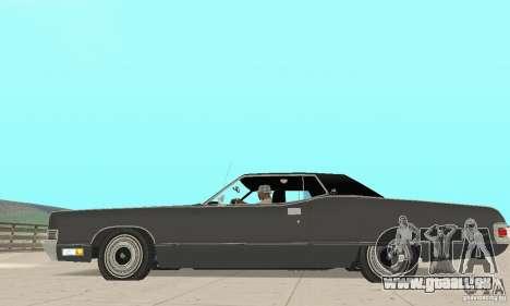 Mercury Marquis 2dr 1971 für GTA San Andreas linke Ansicht