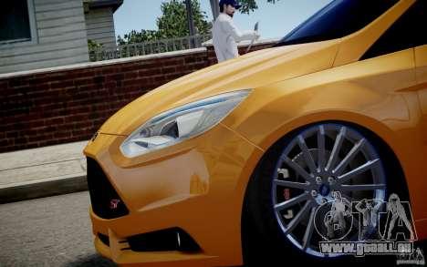 Ford Focus ST Mk.III 2013 pour GTA 4 est un droit
