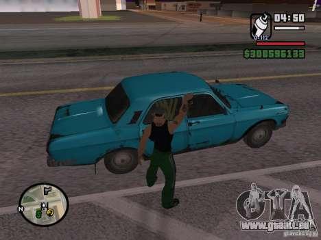 Repeindre de l'actionneur pour GTA San Andreas sixième écran