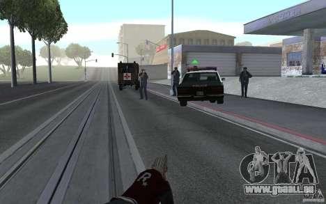 Nouvelle animation fusils de tir pour GTA San Andreas troisième écran