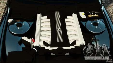 BMW 750iL E38 Light Tuning pour GTA 4 est une vue de l'intérieur