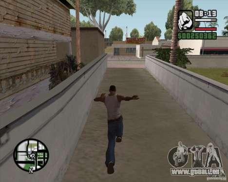 GTA 4 Anims for SAMP v2.0 pour GTA San Andreas troisième écran