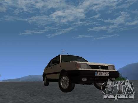FSO Polonez Atu 1.4 GLI 16v pour GTA San Andreas sur la vue arrière gauche