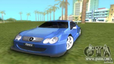 Mercedes-Benz CLK500 C209 für GTA Vice City