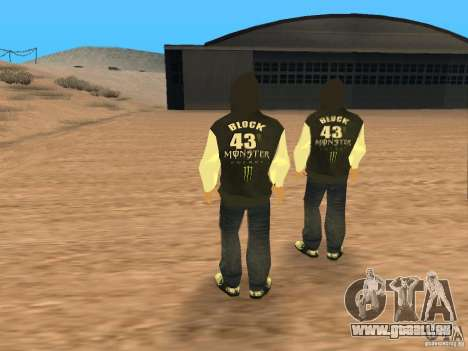 Ken Block Family für GTA San Andreas dritten Screenshot