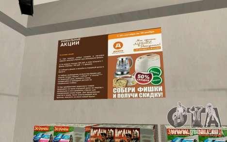 Neuer Shop Dixie für GTA San Andreas fünften Screenshot