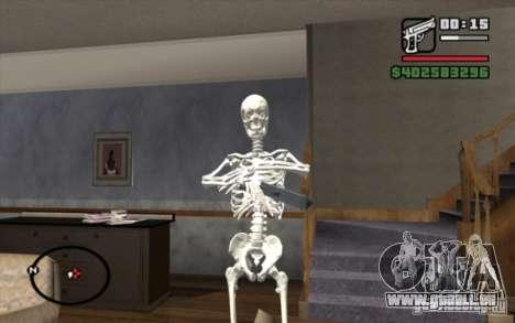 Remplacement d'un traître à la patrie. pour GTA San Andreas deuxième écran