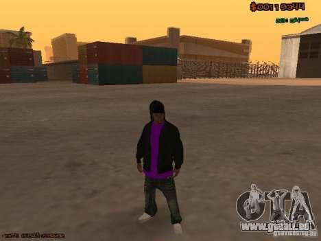 Ballas skins pour GTA San Andreas troisième écran