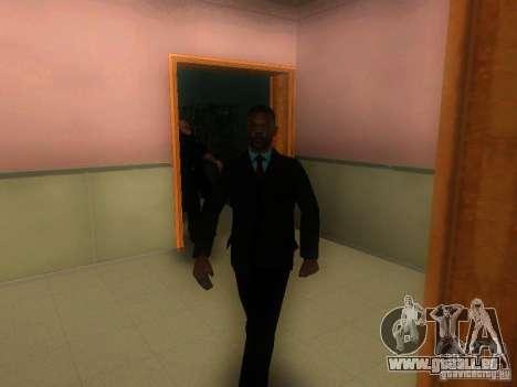 L'entrée de la zone de police à San Fierro pour GTA San Andreas quatrième écran