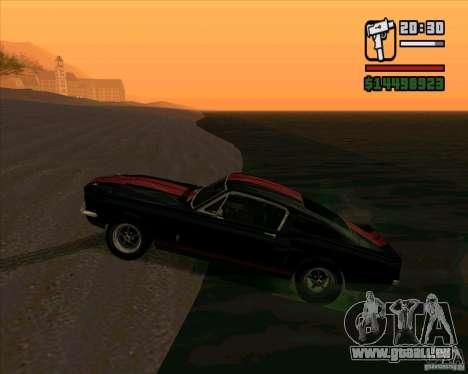 Shelby Mustang GT500 1967 für GTA San Andreas linke Ansicht