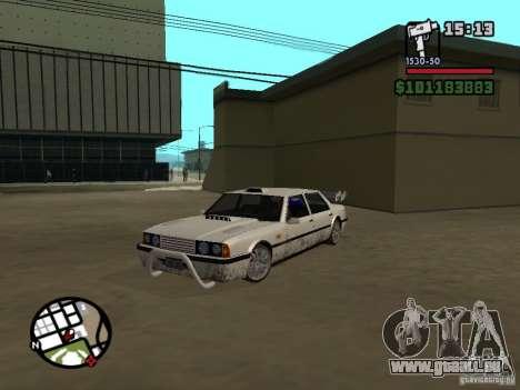 Nouvelles pièces pour le tuning pour GTA San Andreas troisième écran
