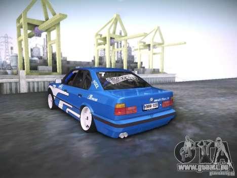 BMW E34 Drift pour GTA San Andreas laissé vue