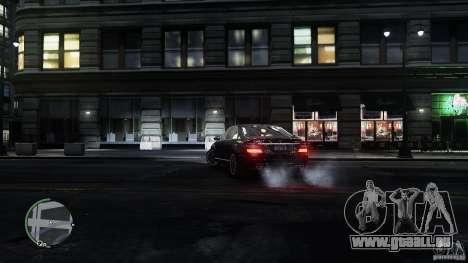 Mercedes-Benz S65 AMG für GTA 4 Innen