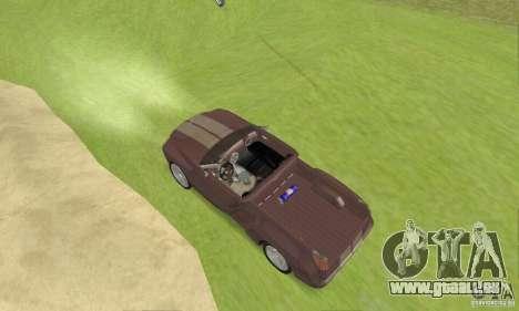 Dodge Sidewinder Concept 1997 pour GTA San Andreas sur la vue arrière gauche