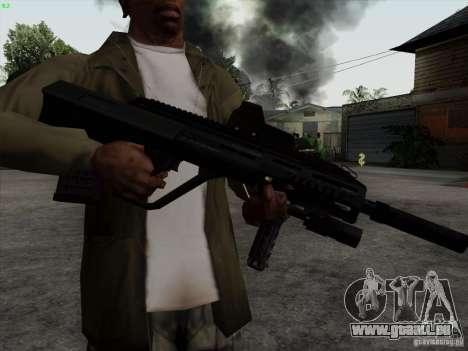 AUG-A3 Special Ops Style pour GTA San Andreas troisième écran