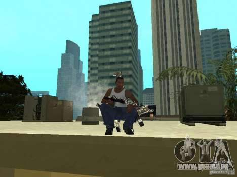 Weapons Pack für GTA San Andreas sechsten Screenshot