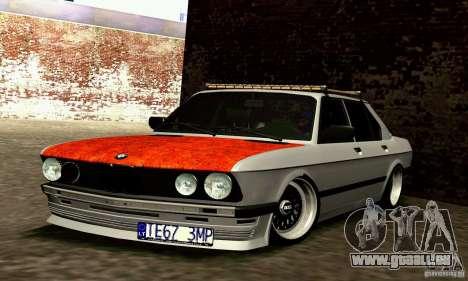 BMW E28 525e RatStyle No1 für GTA San Andreas