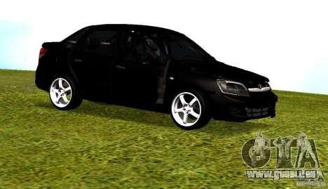 LADA Granta v2. 0 für GTA San Andreas Innenansicht