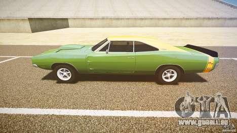 Dodge Charger RT 1969 tun v1.1 für GTA 4 Innenansicht
