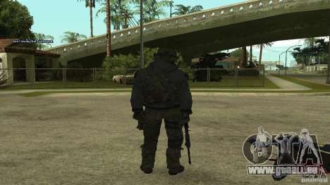Roach from CoD MW2 für GTA San Andreas zweiten Screenshot