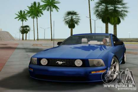 Ford Mustang Twin Turbo für GTA San Andreas linke Ansicht