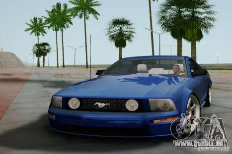 Ford Mustang Twin Turbo pour GTA San Andreas laissé vue