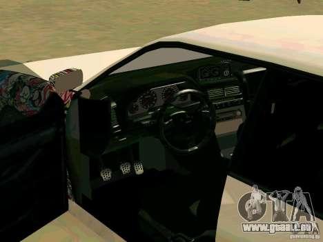 New Sultan v1.0 pour GTA San Andreas vue de dessous