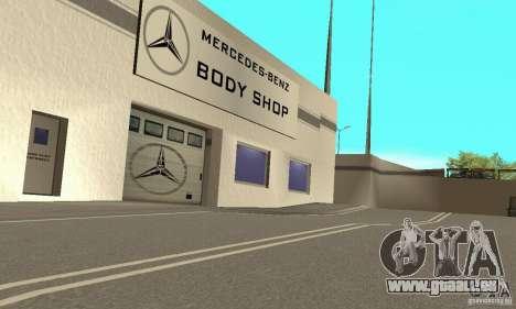 Mercedes Showroom v.1.0 (BFMTV) pour GTA San Andreas quatrième écran