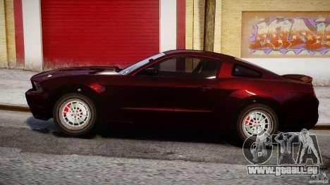 Ford Shelby GT500 2010 für GTA 4 Innenansicht