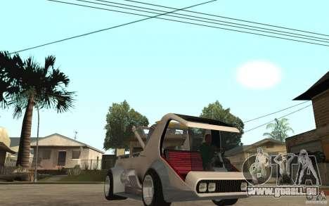 Lil Redd Wrecker pour GTA San Andreas vue arrière